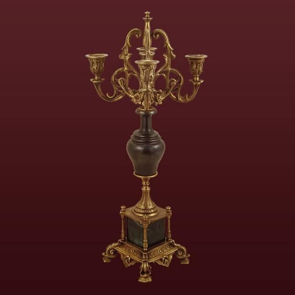 бесплатно фото канделябры из бронзы и камня пообещала