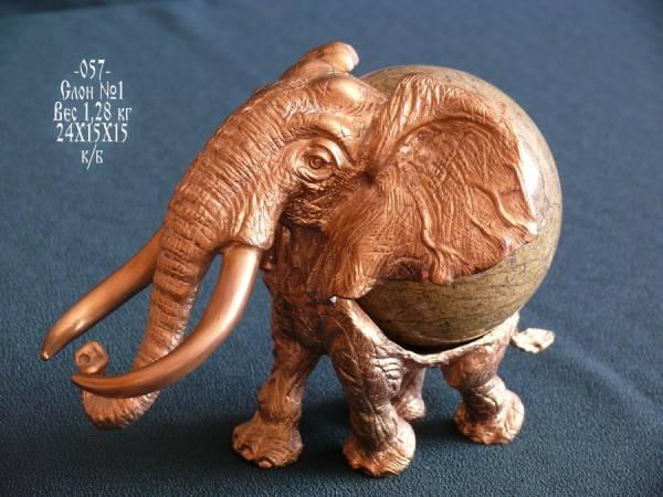 Куда поставить статуэтку слона