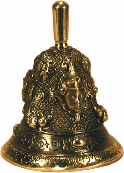 Купить бронзовый колокольчик в москве