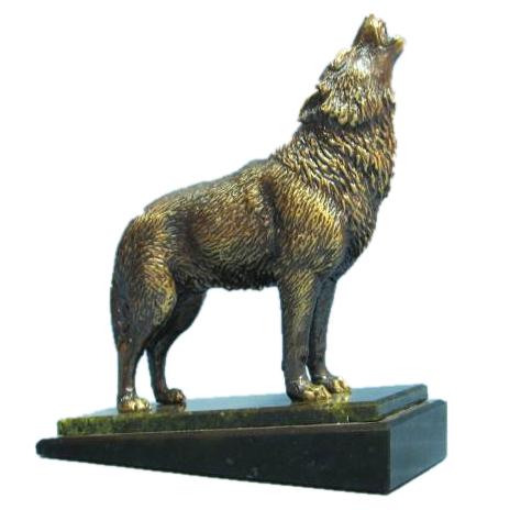 Статуэтки Волки и лисы