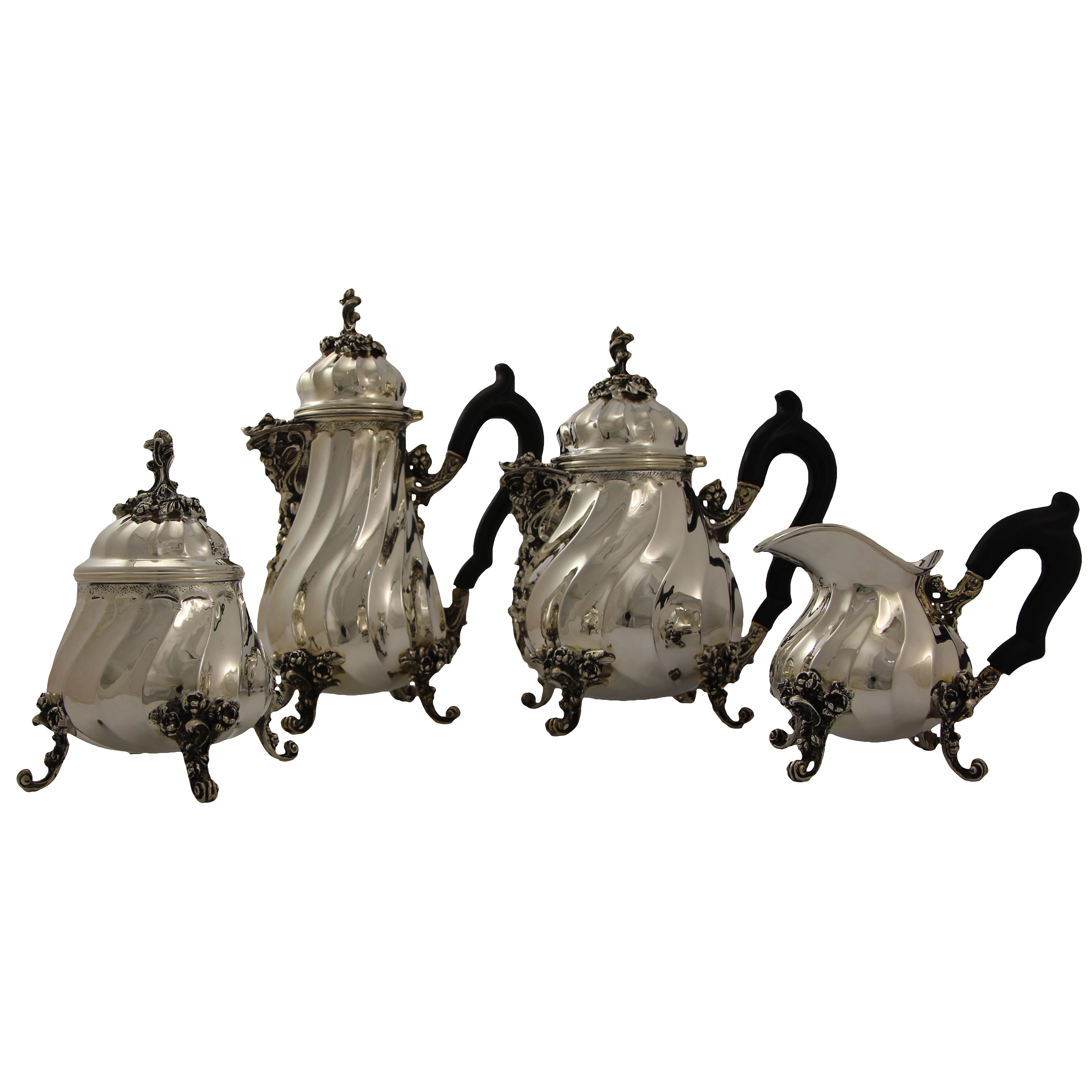 Наборы серебряной посуды