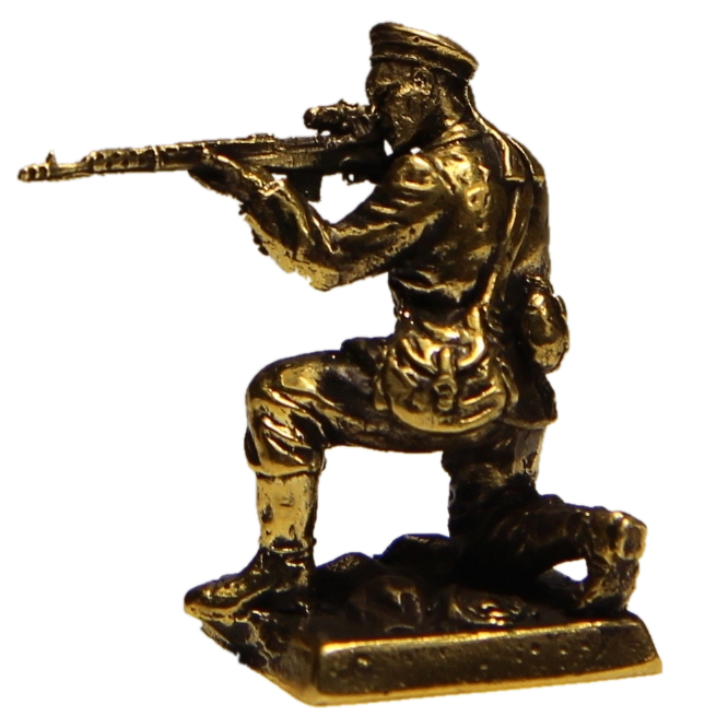 Бронзовая военно-историческая миниатюра