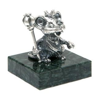 Серебряные статуэтки Крысы