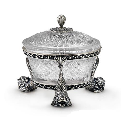 Серебряные икорницы