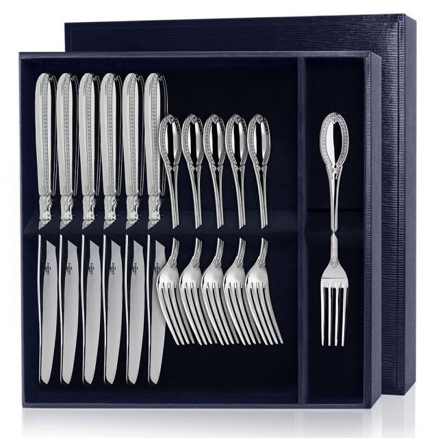 Наборы десертных вилок и ножей