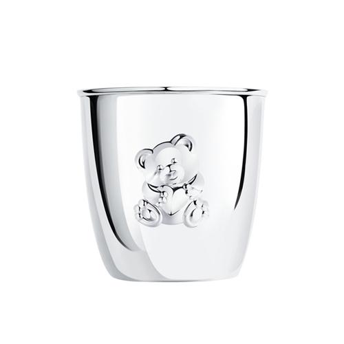 Серебряные стаканы для детей