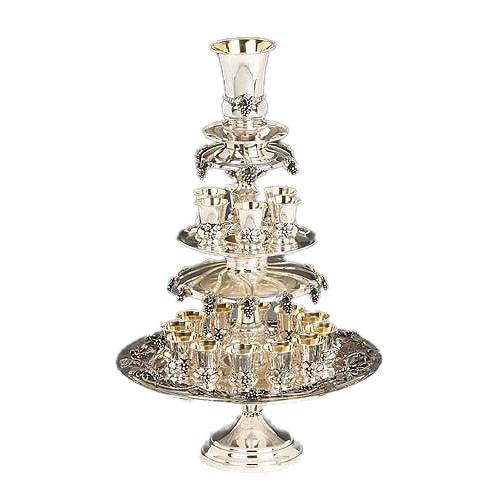 Серебряный винный фонтан